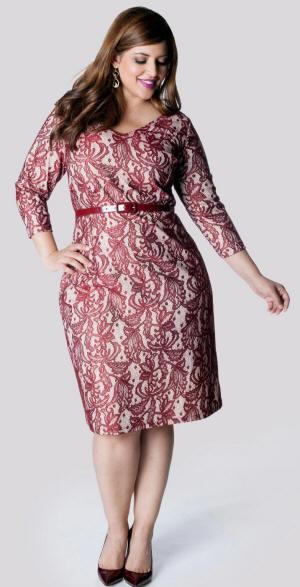 Приталенная одежда для полных женщин фото